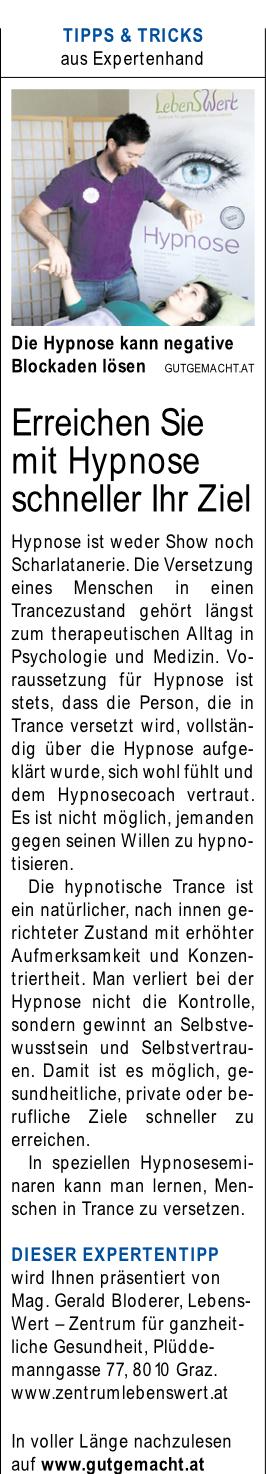 Expertentipp Kleine Zeitung