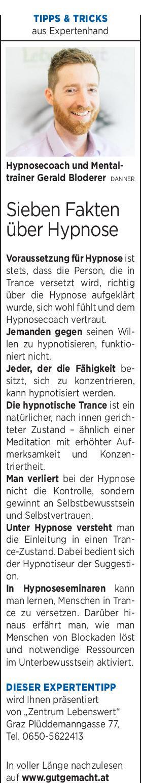 Expertentipp zur Hypnose